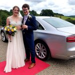 Cilver Audi car at a wedding